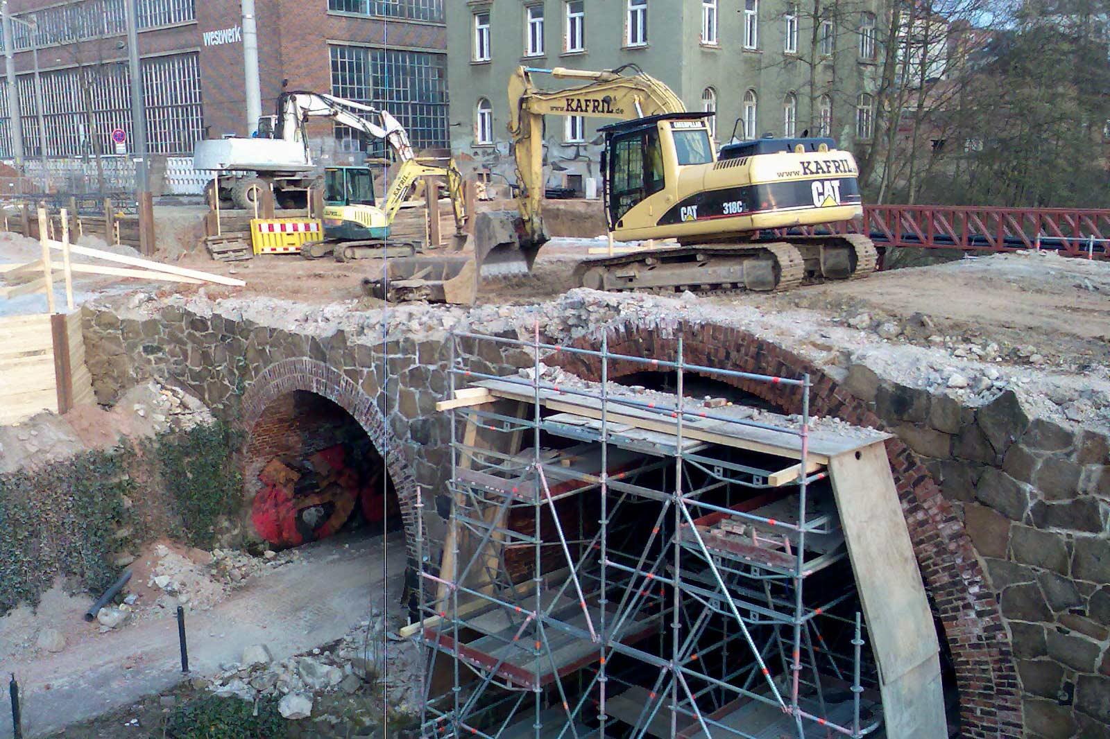 Neubau der König-Albert-Brücke