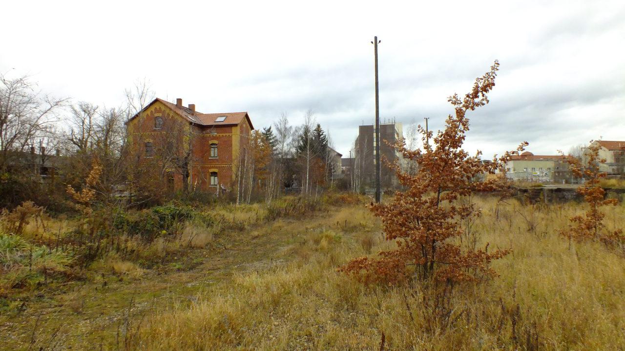 Reste Verladeanlagen Bahnhof Plagwitz