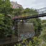Aurelienbrücke am Karl-Heine-Kanal