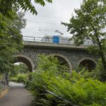 Eisenbahnbrücke über den Karl-Heine-Kanal