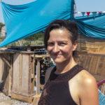 """Nina Wehling vom Betreiberverein des Cafés """"Heiter bis wolkig"""""""