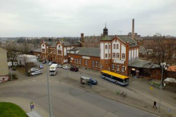 Bauliche Durchmischung in Leipzig Plagwitz