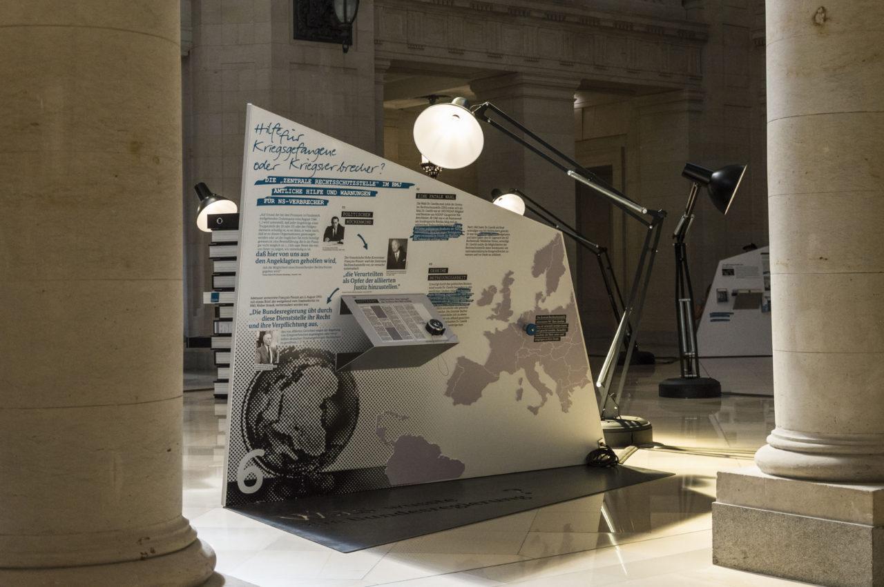 Rosenburg-Ausstellung im Bundesverwaltungsgericht