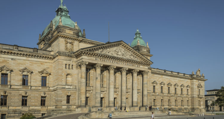 Das Bundesverwaltungsgericht Leipzig